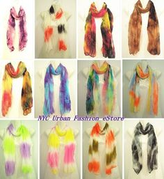 Sexy Colorful 4 Seasons Trendy Chic Women Soft Light Scarf Wrapping (12 Colors)  #HQC #Scarf