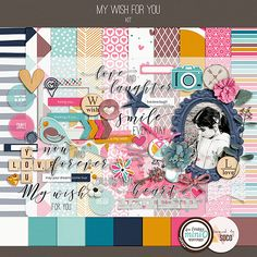 My Wish For You - Kit + FWP Journal Cards