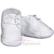 Boys Gabardine Christening Shoes