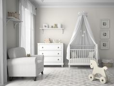 Consigue un estilo nórdico para la habitación infantil
