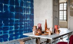 Indigo by Panoramique wallpaper | Elitis