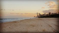 Nice walk down at Surfers  Paradise  #surfersparadisebeach #beach  #surf #sand #waves by andymarshalsey http://ift.tt/1PI0tin