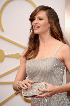 #oscar2014 - Jennifer Garner   Con joyas de diamantes de Forevermark entre las que destacaban unos finísimos pendientes de lágrima
