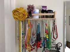 Hang Your Jewelry Collection