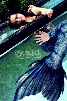Mermaid Raven of Merbellas Anglerfish tail