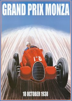 Grand Prix Monza Art Print