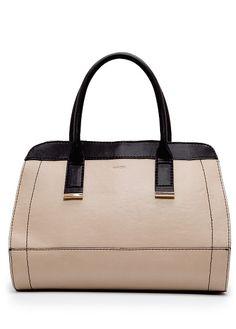 MANGO - BAGS - Metallic detailing tote bag