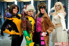 SDCC 2012: X-Men Cosplayers on the Marvel Stage    Photo by Nicole Ciaramella