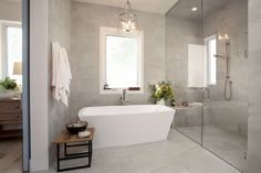 Luxury ensuite for master retreat bedroom ideas decor, family house interior design, family house de Ensuite Bathrooms, Bathroom Kids, Modern Bathroom, White Bathroom, Vanity Bathroom, Bathroom Storage, Kids Bath, Bathroom Wall, Master Bathroom