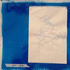 Drawing by Adva Rodan @3361 Gallery - Florentine, Tel Aviv