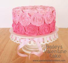 Tarta degradada de Baileys