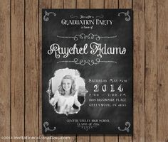 graduation invitation open house printable by invitationceleb - Graduation Invitations Pinterest