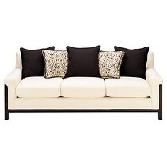 Cleo Cream Sofa