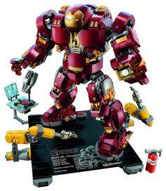 76105: LEGO Marvel Super Heroes The Hulkbuster: Ultron Edition | by lbaixinho