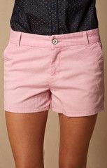 PINK LADY TROUSER POCKET BERMUDA SHORT.