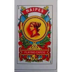 Naipes Spanish Playing Cards by Naipes. $3.89. The boxed deck includes 40 cards with red backs. Unlike Anglo-French decks (e.g., poker or bridge decks), which have 52 cards and diamonds, clubs, hearts and spades for suits, this deck has ten numbered cards in suits called clubs, coins, cups and and swords. Spanish playing cards are used to play traditional Spanish and Latin American games, such as Mus, Briscas and Tute.