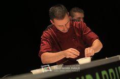 """Roberto Artíguez y Gorka Salazar del Sanwicofee de Bilbao Consigue el libro del campeonato con todas las recetas en: http://www.campeonatodepintxos.com/tienda Roberto Artíguez y Gorka Salazar  participaron con el pintxo """"Hezurmuina""""  en el IX Campeonato de Euskal Herria de Pintxos representando al bar Sanwicofee, que se encuentra en la calle Ramón Rubial, 4 (T.94 4987524). #Hondarribia #pintxos #tapas #CampeonatoPintxos"""