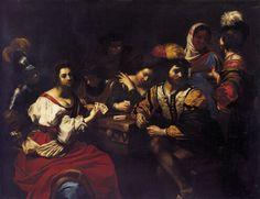 Nicolas Régnier The Card Players Flanders/Belgium (c. 1620) Szépművészeti Múzeum