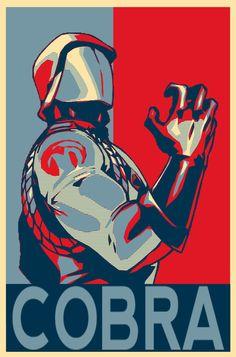 Cobra Commander for President in 2016.