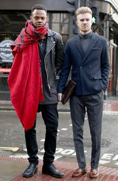 London | Men Street Style | Men's Fashion | Menswear | Men's Outfit for Fall/Winter | Shop at designerclothingfans.com