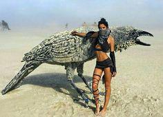 Burning Man fashion & art
