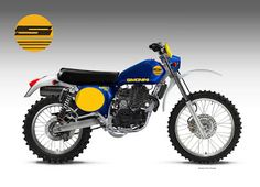"Motosketches: SIMONINI RG 450 ""SHADOW"""