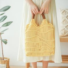 This item is unavailable Macrame Bag, Macrame Cord, Summer Bags, Spring Summer, String Bag, Big Bags, Knitted Bags, Vintage Tops, Knitwear