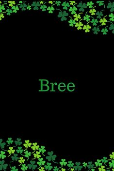 Bree can have several different origins and meanings, but is ultimately an anglicized form of the Gaelic female name, Brígh, which is a Gaelic word that can have several meanings, including: &#8220…