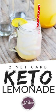 Low Carb Lemonade Recipe What else can scream summer better than this Keto Lemonade! This wonderfully refreshing, low carb lemonade will refresh you during the hot days of summer. Cool, sweet and low carb, you can't go wrong with this one! Keto Smoothie Recipes, Low Carb Smoothies, Apple Smoothies, Weight Loss Smoothies, Vegan Smoothies, Green Smoothies, Keto Foods, Keto Snacks, Low Carb Keto
