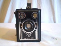 Vintage Agfa Synchro Box Camera by jclairep on Etsy, $30.00