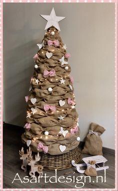 Jute kerstboom 150 cm