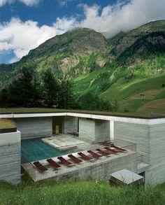 Peter Zumthor - Thermal Bath Vals, Graubünden, Zwitserland