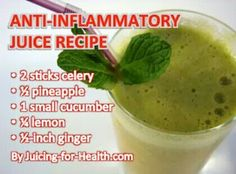 Anti Inflammatory Juice Recipe