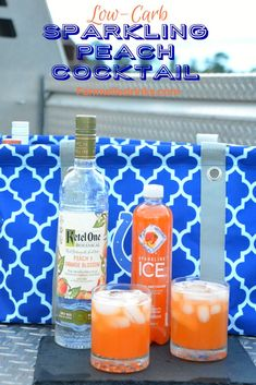 The Rise Of Private Label Brands In The Retail Meals Current Market It Is A Low-Carb Sparkling Peach Cocktail With Ketel One Peach And Orange Blossom Vodka Combined In Peach Nectarine Sparkling Ice. Low Carb Cocktails, Beste Cocktails, Vodka Cocktails, Cocktail Drinks, Cocktail Recipes, Low Carb Mixed Drinks, Flavored Vodka Drinks, Alcohol Drink Recipes, Vodka Recipes