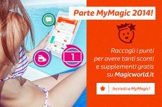 MyMagic 2014: tanti sconti e omaggi gratis per te!   Scopri come: http://www.magicworld.it/?p=46214