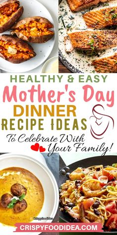 If anyone contributes the most to our lives then it is the mother. The mother can be the only one to love unselfishly without getting anything. To celebrate mother's day and surprise your mom with these amazing healthy best dinner recipes ideas that'll your love your families and easy to cook and dishes are so delicious, try now! #mothersday #mothersdayrecipes #dinnerideas #mothersdaygift #thanksgiving #mothersdaydinnerrecipes #holiday #recipes #mealprep #crispyfoodidea
