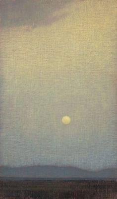 "iamjapanese: "" David Grossmann(American, b.1984) As Dawn Comes Oil, 24 x 14"" via """