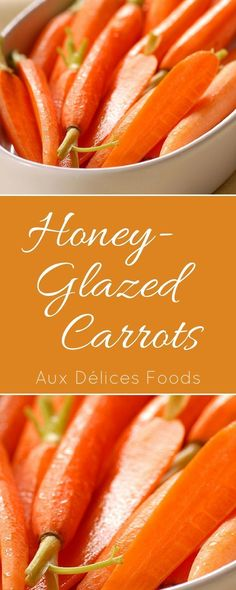 Adding a touch of brown sugar and honey makes these carrots a favorite, especially with the kids!