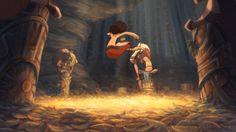 Un enfant curieux va découvrir le monde magique qui se cache derrière le rituel des chamans de sa tribu. De Théo BOUBOUNELLE, Chloé BURY, Jean Baptiste CUMON...