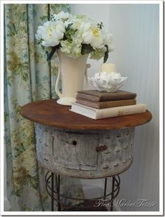 Farmhouse Friday #18 - Galvanized and Metal Decor - Knick of Time