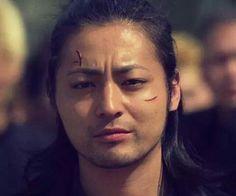 Serizawa Tamao | Crows Zero | Suzuran Crows Zero, Movie Shots, Handsome Actors, Amazing Grace, Itachi, High Low, Japanese, Guys, Movies