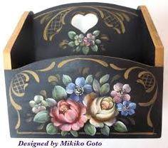 Resultado de imagem para bauernmalerei folk decorative art #pintturadecorativamadera