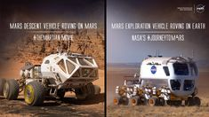 Compares reality and The Martian. Fascinating. The Martian movie is set 20 years in the future, but here at NASA we are already developing many of the technologies that appear in the film. The movie takes the work we're doing and extends it into...