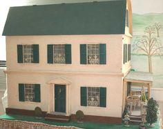 dollhouses from the 1930s - Google Search  Rick Maccione-Dollhouse Builder www.dollhousemansions.com