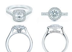 "Tiffany Legacy.  My dream ring since Sophmore year HS when I planned my ""wedding"" for Home Econ."