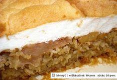 Lisztmentes habos-zabos almás Healthy Sweets, Healthy Recipes, Sugar Free Diet, Eat Seasonal, Tasty, Yummy Food, Hungarian Recipes, Fall Desserts, Food And Drink