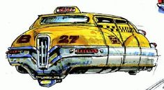 The Fifth Element: 40 Original Concept Art Gallery - Daily Art, Movie Art Taxi, Classic Sci Fi Movies, Mad Movies, Conceptual Sketches, Concept Art Gallery, Luc Besson, Ligne Claire, Fifth Element, Future City