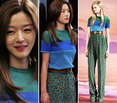 Gianna Jeon Ji Hyun (전지현) Gucci outfit from Resort 2014