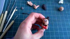How to make baby Freddy Fazbear with clay #fnaf #polymerclay #youtube #howto #freddyfazbear