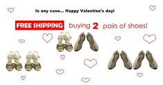 In any case.... Happy Valentine's Day! FREE SHIPPING until 14 February! Do not miss this fantastic opportunity to buy made-in-Italy tango shoes saving the shipping costs! www.italiantangoshoes.com